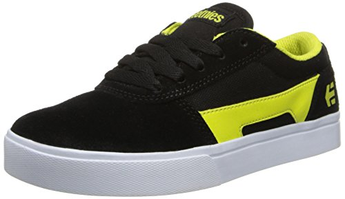 Etnies Unisex-Kinder K RCT Sneaker, Schwarz (Black/Yellow), 36 EU -