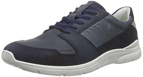 Ecco Irondale, Chaussures De Sport Bleues Pour Hommes (marine / Marine 50595)
