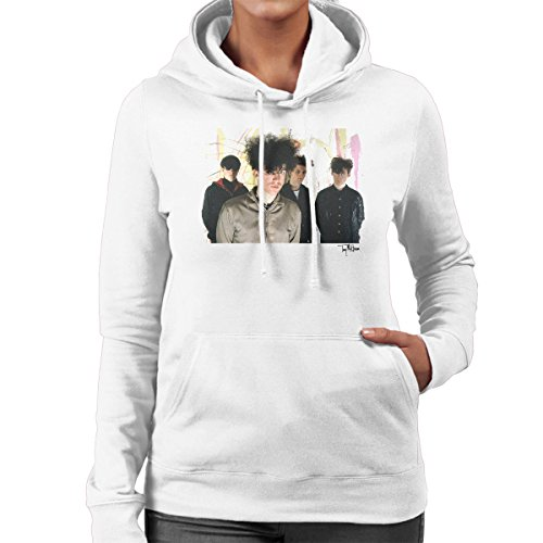 Tony Mottram Official Photography - Jesus And Mary Chain Band Shot William Reid Close Up Women's Hooded Sweatshirt