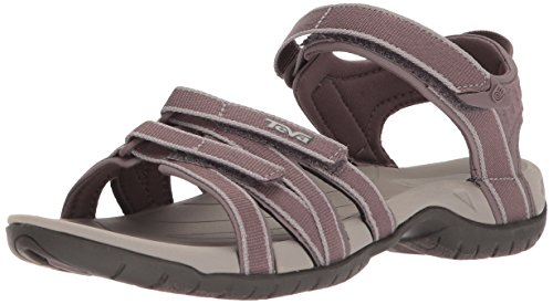 Teva Damen W Tirra Sport-& Outdoor Sandalen, Pink (Plum Truffle Ptrf), 40 EU