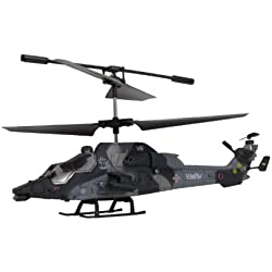 AMEWI 25094 Eurocopter Tiger - Helicóptero teledirigido (3 canales, giroscopio, tamaño pequeño)