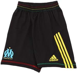 1-Short OM Olympique Marseille F50 Noir 2010-2011