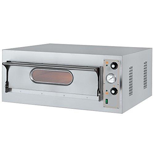 Macfrin 5104 Horno Eléctrico para 4 Pizzas