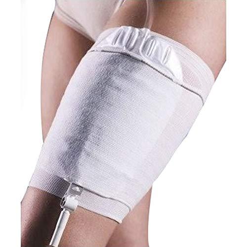2Pcs Urin-Katheter Bein-Beutel-Halter-Hülse, Inkontinenz Kollektion Leg Bag Sleeve - 4 verschiedene Größen (nicht einschließen Urinbeutel),Leg36~55CM -