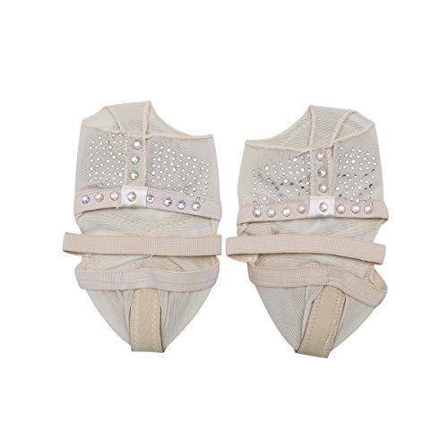 VORCOOL Dance Paws Pad Fuß Thong Paws Halbschuhe (M 36-37)