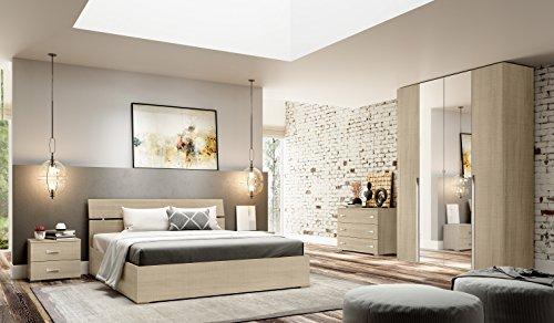 Klipick camera da letto matrimoniale completa modello jareth.