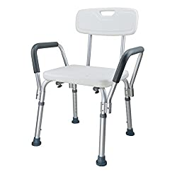 Shower seat,Folding Anti-skidding Shower stool Bathtub stool Foot stool Persons Shower chair For adults Eeniors Pregnant women Bathroom-A