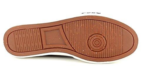 B9224 sneaker uomo POLO RALPH LAUREN CANTOR LOW NE scarpa marrone scuro shoe man Marrone scuro