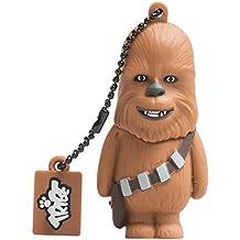 Tribe Disney Star Wars Chewbacca USB Stick 8GB Speicherstick 2.0 High Speed Pendrive Memory Stick Flash Drive, Lustige Geschenke 3D Figur, USB Gadget aus Hart-PVC mit Schlüsselanhänger – Braun
