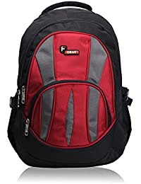 F Gear Adios 36 Ltrs Red Casual Backpack (1856)