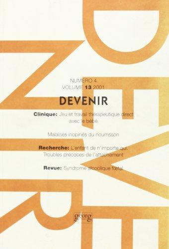Devenir Vol 13 N 4 2001