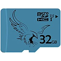 BRAVEEAGLE 32GB Class 10 Micro SD Card U1 microSDHC Memory Card for Dash Cam/Tablet (32GB U1)