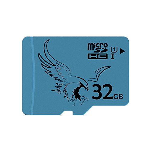 BRAVEEAGLE 5 Pack Micro-SD-Karte 32 GB Class 10 U1 microSDHC-Speicherkarte 32-GB-SD-Karte für Tablet/GoPro/Dash Cam (5 Pack x 32 GB U1) (Beste Sd Karte Für Die Go Pro)