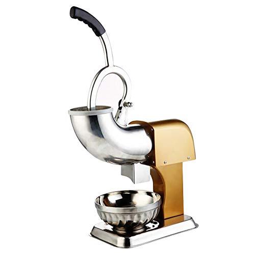 Gewerbe Haushalt Stainless Ice Crusher Ice Shaver Machine Schneekegelmaschine Für Eiscreme Kalte Getränke Fruchtdessert Und Cocktail 300w, 396lb/h