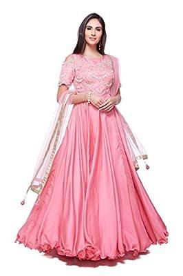 Generic Women's Silk Anarkali Suit