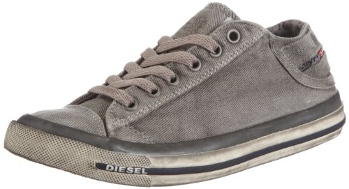 Diesel Exposure Low W Y00637 PS752, Damen Sneaker, Grau (Gunmetal T8080), EU 39