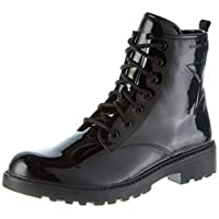 Geox J Casey Girl G Combat Ankle Boots