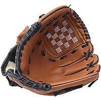 GXQ-AIJINGYU Equipo de práctica de softbol de Guantes de béisbol para Deportes al Aire Libre, tamaño 9.5/10.5/11.5/12.5, Mano Izquierda para Entrenamiento de Hombre Adulto Mujer