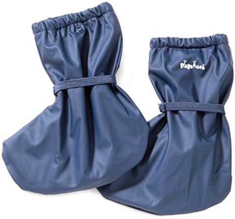 Playshoes Regenfüßling Regenfüßlinge mit Fleece-Futter, verschiedene Farben, Oeko-Tex Standard 100 408911, Unisex-Baby Krabbelschuhe, Blau (marine 11), EU