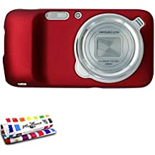 Muzzano Le Pearls - Funda para Samsung Galaxy S4 Zoom, color rojo
