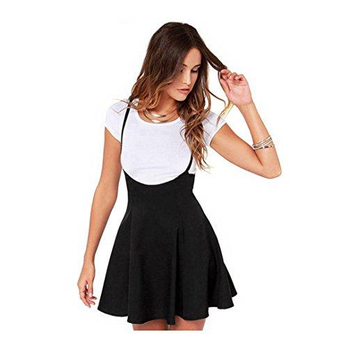 Yesmile Vestido de Mujer Falda Negro Vestido Elegante de Noche para Boda  Fiesta Vacaciones Falda Negra 8cd551e88a64