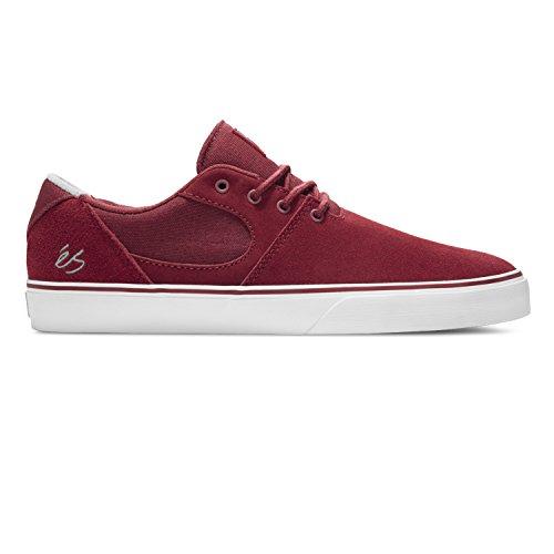 Chaussure éS Accel SQ Noir-Blanc-Rouge Rouge - Bordeaux/blanc