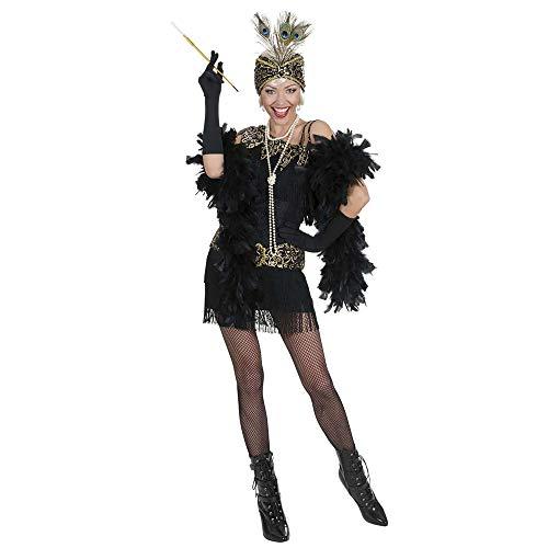 chsenenkostüm Charleston, Kleid und Kopfbedeckung, Größe L ()
