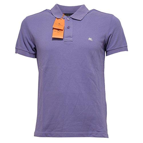 9246Q polo uomo ETRO maglia viola t-shirt men [S]