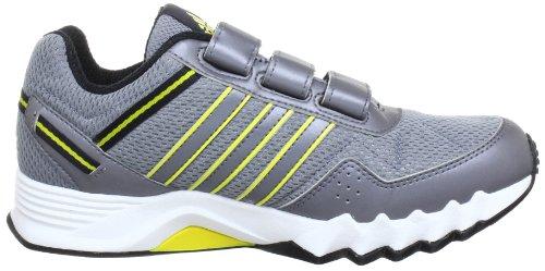 adidas Performance adifaito CF K Q23351 Unisex-Kinder Laufschuhe Grau (TECH GREY F12 / VIVID YELLOW S13 / NEO IRON MET. F11)