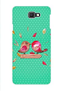 AMAN Birds Kissing 3D Back Cover for Samsung Galaxy J7 Prime