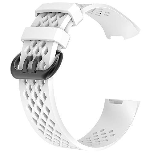 Die besten Geschenke des Valentinsgrußes !!! Beisoug neue Art und Weise Sport Breathable Silikonarmband-Bügel-Band für Fitbit Gebühr 3