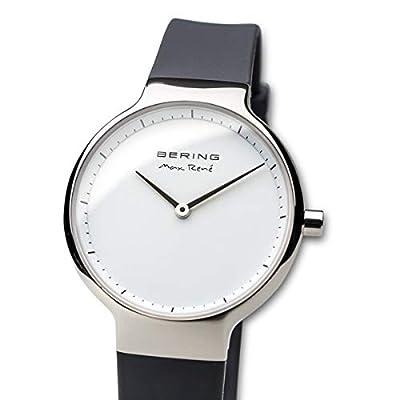 BERING Reloj Analogico para Mujer de Cuarzo con Correa en Silicona 15531-400 de Bering