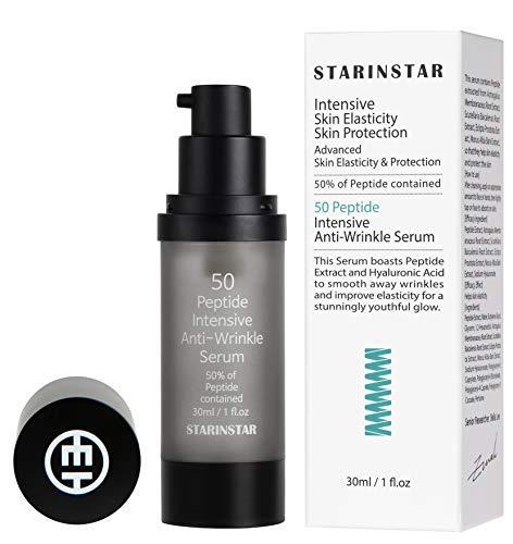 [STARINSTAR] 50 Peptide Intensives Anti-Falten-Serum, Intensive Hautelastizität & Hautschutz, 50% Peptid enthalten, mit Airless-Gefäß...