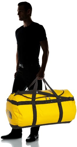 The North Face Reisetasche Base Camp Duffel, Summit Gold/Tnf Black, 34 x 66 x 39 cm, 72 Liter, T0ASTDZU3 Summit Gold/Tnf Black