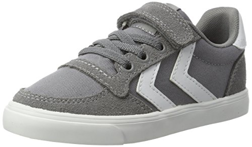 Hummel Unisex-Kinder Slimmer Stadil Jr Low-Top Grau (Frost Grey)