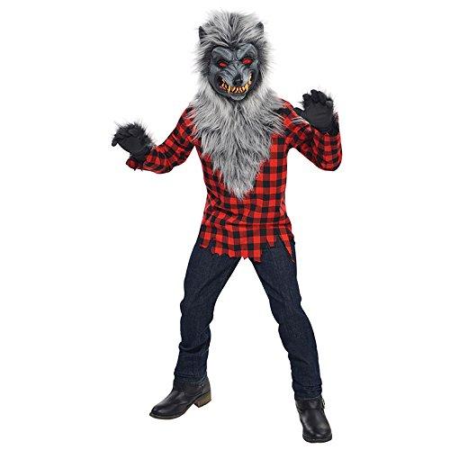 Werwolf Kostüm Teen - Teens Hungrig Heuler Halloween Werwolf Halloween Kostüm 14-16 Jahre