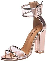 Amazon.es  Sandalias Transparentes - 20 - 50 EUR   Zapatos para ... 2fd72c4049cc