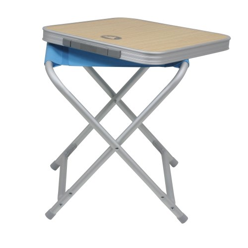 10T Outdoor Equipment 10T Tabstool 2in1 Hocker - Tisch Kombination Campinghocker Klapphocker Gartenhocker oder Klapptisch Hockertisch Beistelltisch leicht stabil einfach - Picknick-tisch Zubehör