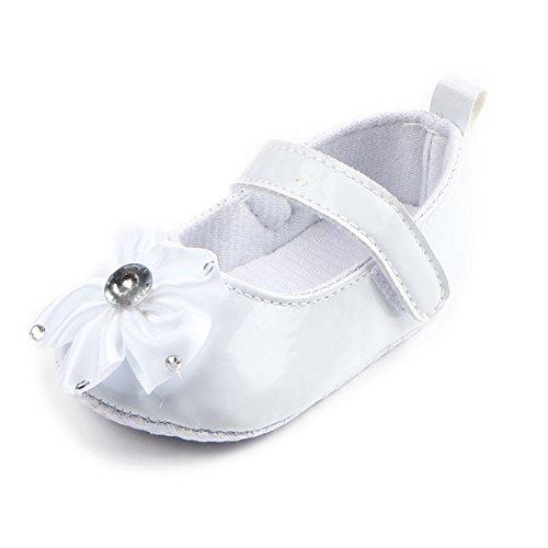 leap frog  Crystal Flower Mary Jane, Baby Mädchen Lauflernschuhe Weiß