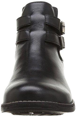 Yep Aline 1067, Boots fille Noir (Cuir Noir)