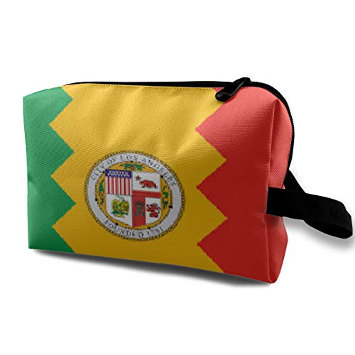 Chicago Mini (Makeup Bag Portable Travel Cosmetic Bag Chicago's Flag Mini Makeup Pouch for Women Girls)
