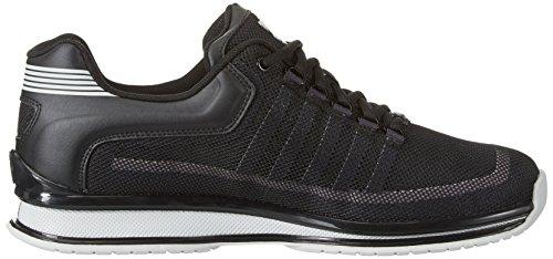 K-Swiss Rinzler Trainer, Sneakers Basses Homme Noir (Black/gull Gray)