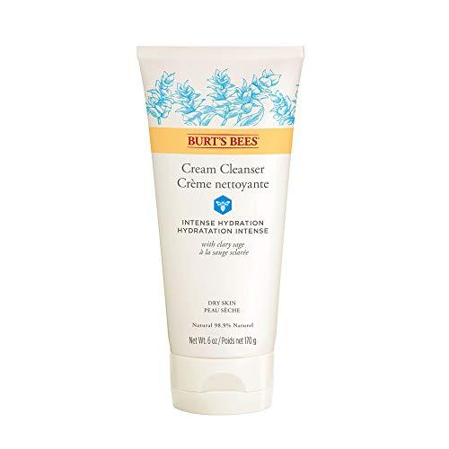 Burt's Bees Creme-Reiniger für die Intensive Feuchtigkeitspflege, 1er Pack (1 x 170 g) -