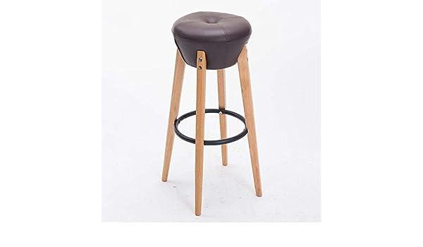 Dididd poltrona in legno massiccio sgabello alto sgabello da bar