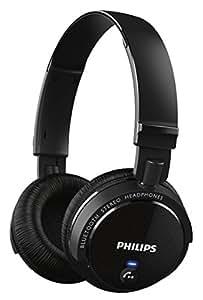 Philips SHB5500BK Cuffie Wireless Semichiuse con Bluetooth, Nero