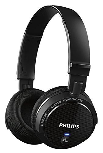 Philips SHB5500BK Wireless Bluetooth Headphones (Black)