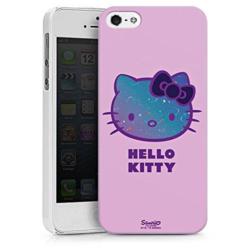 Apple iPhone X Silikon Hülle Case Schutzhülle Hello Kitty Merchandise Fanartikel Universe Hard Case weiß