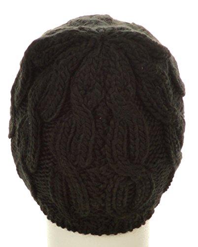 Eisbär anta bonnet pour femme taille unique Noir - col.009 schwarz