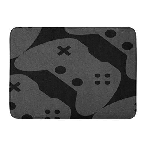 piele Videospiel-Controller Nerd Nerdy Dork Geek Badezimmer Dekor Teppich ()