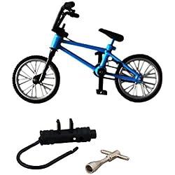 Dedo De Bicicletas De Montana Bicicletas Fixie Bmx Juguete Creativo Del REGALO Azul